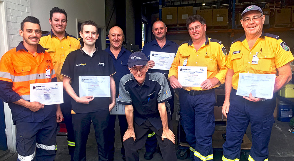 NSW Rural Fire Service heads to EPG Engines Head Office